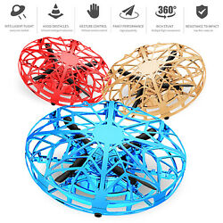 Mini Drone Quad Induction Levitation Smart UFO Hand Control Helicopter Toys Gift $14.95
