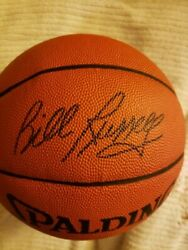 Bill Russell Signed Spalding Official NBA Basketball With PSA DNA sticker COA $2000.00