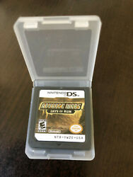 Advance Wars: Days of Ruin nintendo ds game cartridge only $22.99