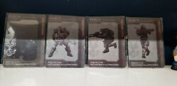 Halo Reach Bungie Collectible Noble Team Metal Cards - Jun Emile Jorge Noble 6 $29.50