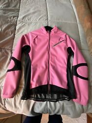 Cannondale Carbon Women#x27;s Cycling Soft Shell Jacket Size XL $55.00
