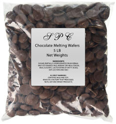 5 LBS Five pound bag of Merckens Melting Coating Wafers $17.99