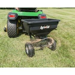 Fertilizer Seed Spreader Tow Behind For Lawn Mower ATV Tractor $83.23