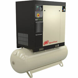 Ingersoll Rand Rotary Screw Compressor Total Air System 7.5 HP 200V