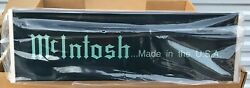Rare NOS McIntosh Lighted Display Sign in the Original Box