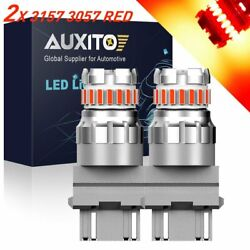 2x AUXITO 3057R Brake Tail Light Red LED Bulb Fit for 03 16 Ram 1500 2500 3500 K