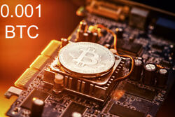 Bitcoin Mining Contract 4 Hours  Get BTC in Hours not Days 0.001 BTC Guaranteed $13.99