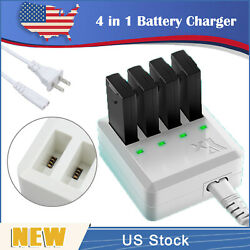 4X1 Multi Battery Charger Intelligent Quick Charging For DJI Tello Drone US Plug $20.00