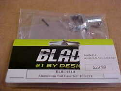BLADE HELICOPTER PART BLH3431A = ALUMINUM TAIL CASE SET : 180 CFX NEW $23.00