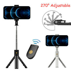 Adjustable Remote Selfie Stick Tripod Desktop Stand Desk Holder For Cell Phone $9.95