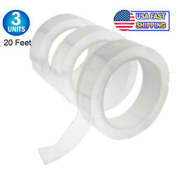 Nano PU Magic Tape Reusable Washable Double Sided Alien Adhesive Grip Thick Tape $10.95