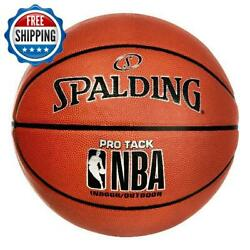 Basketball Official Size 29.5#x27;#x27; Spalding Outdoor Indoor NBA Pro Tack $38.99