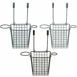 Over Cabinet Door Grid Hair Styling Station amp; Organizer for Blow Dryer Bathroom $14.99