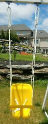 2 NEW Swing set Seat Belt Kids Swing YELLOW Playground Play set Accessories Lot $69.00