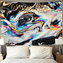 Abstract Painting Tapestry Wall Hanging Trippy Tapestry For Bedroom Decor USA $15.71