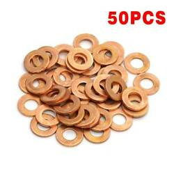 50x Sump Plug Washer Kit For Peugeot 207 208 307 308 406 Expert Partner 30735089 $16.99