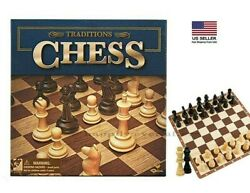 Traditions CHESS Game Board Classic Modern Collectors Board Game Set $14.80