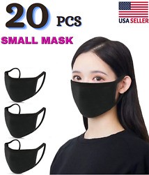 3 masks Small Size Cotton Face Masks Washable Reusable Ships from USA $4.95