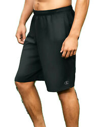 Champion Pants Shorts Men#x27;s Cross Training Gym Workout Double Dry Light Weight $15.32