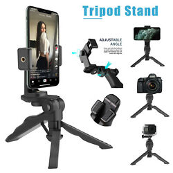 360° Adjustable Tripod Desktop Stand Desk Holder Stabilizer For Cell Phone GoPro $9.96