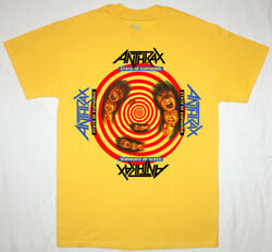 ANTHRAX STATE OF EUPHORIA t shirt Vintage Gift For Men Women Funny Tee $12.30