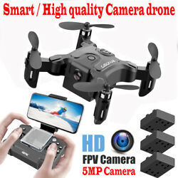 Mini Drone With HD Camera RC Quadcopter RTF WiFi FPV Helicopter Quadrocopter $79.90