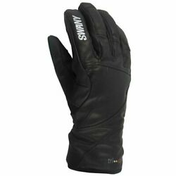 Mens Swany Blackhawk Leather Under Gloves Mittens Ski Snow Waterproof Insulated AU $129.00