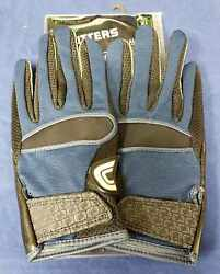 Cutters Football Gloves 017 Original Receiver Jersey Black Navy Size X Large $24.95
