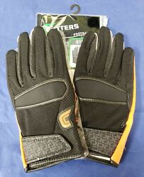 Cutters Football Gloves 017 Original Receiver Black Orange Size X Large $24.95
