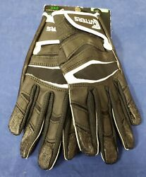 Cutters Football Gloves C Tack X40 Revolution Black Size Small $24.95