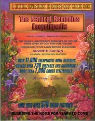 Natural home Remedies Encyclopedia Book healing health cancer help 7th Editions $59.00