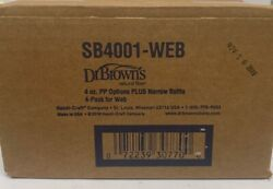 Dr. Brown's Options Narrow Baby Bottles 4 Ounce 4 Pack- New $16.99