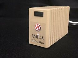 Commodore AMIGA slim psu for 500 600 and 1200 Power Supply $69.99