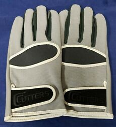 Cutters Football Gloves 017 Original Receiver Gray Size XXX Large $24.95