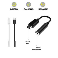 USB-C Type C Adapter Port to 3.5MM Aux Audio Jack Headphone Cable For Samsung $7.95