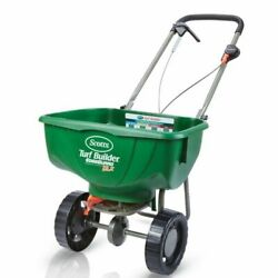 Scotts Turf Builder EdgeGuard DLX Broadcast Fertilizer Spreader 1 pk $86.99