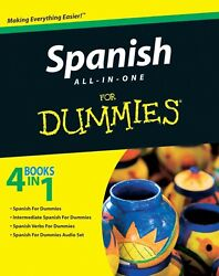 Learn Spanish Easily for Dummies Digital Book in English 4 books in 1  P.D.F