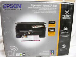 Epson Expression Home XP-340 Inkjet Multifunction Printer with Copier  $209.99