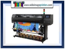 HP Latex Plotter Printer 370 64quot; Wideimagesolutions refurbished bulk ink system $14999.99