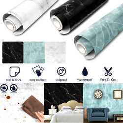 Marble Contact Paper Self Adhesive Peel amp; Stick Wallpaper PVC Kitchen Countertop $9.95
