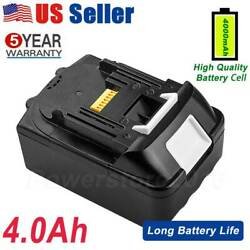 4.0Ah Battery For Makita CX300RB 18V LXT Compact Brushless Cordless Drill Driver $20.99
