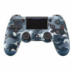 Mint PS4 Sony PlayStation Dualshock 4 V2 Controller - Blue Camo $53.99