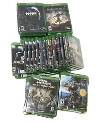 XBOX ONE Games NEW Factory Sealed $13.99