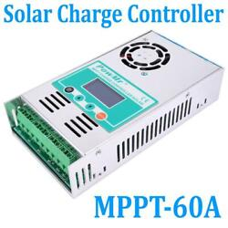 60A AMP MPPT Solar Regulator Charge Controller 12243648V Auto LCD with Fan $105.80