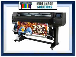 HP Latex Plotter Printer 560 64quot; Wideimagesolutions refurbished New inks RIP $12999.99