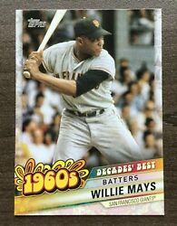 2020 Topps Series 2 Decades Best Insert Pick your Card $0.99