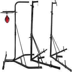 Foldable Boxing Bag Stand Stand Punch Bag Bracket Frame Pull Up Bar Fitness Home $179.99