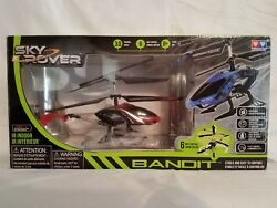 A 6 Sky Rover Bandit Helicopter with Gyro Red $15.00