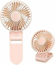 TriPole Mini Handheld Fan USB Portable Fans Rechargeable Battery Operated Foldab $9.99