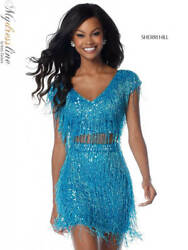 Sherri Hill 51781 Short Cocktail Dress LOWEST PRICE GUARANTEE NEW Authentic $598.00